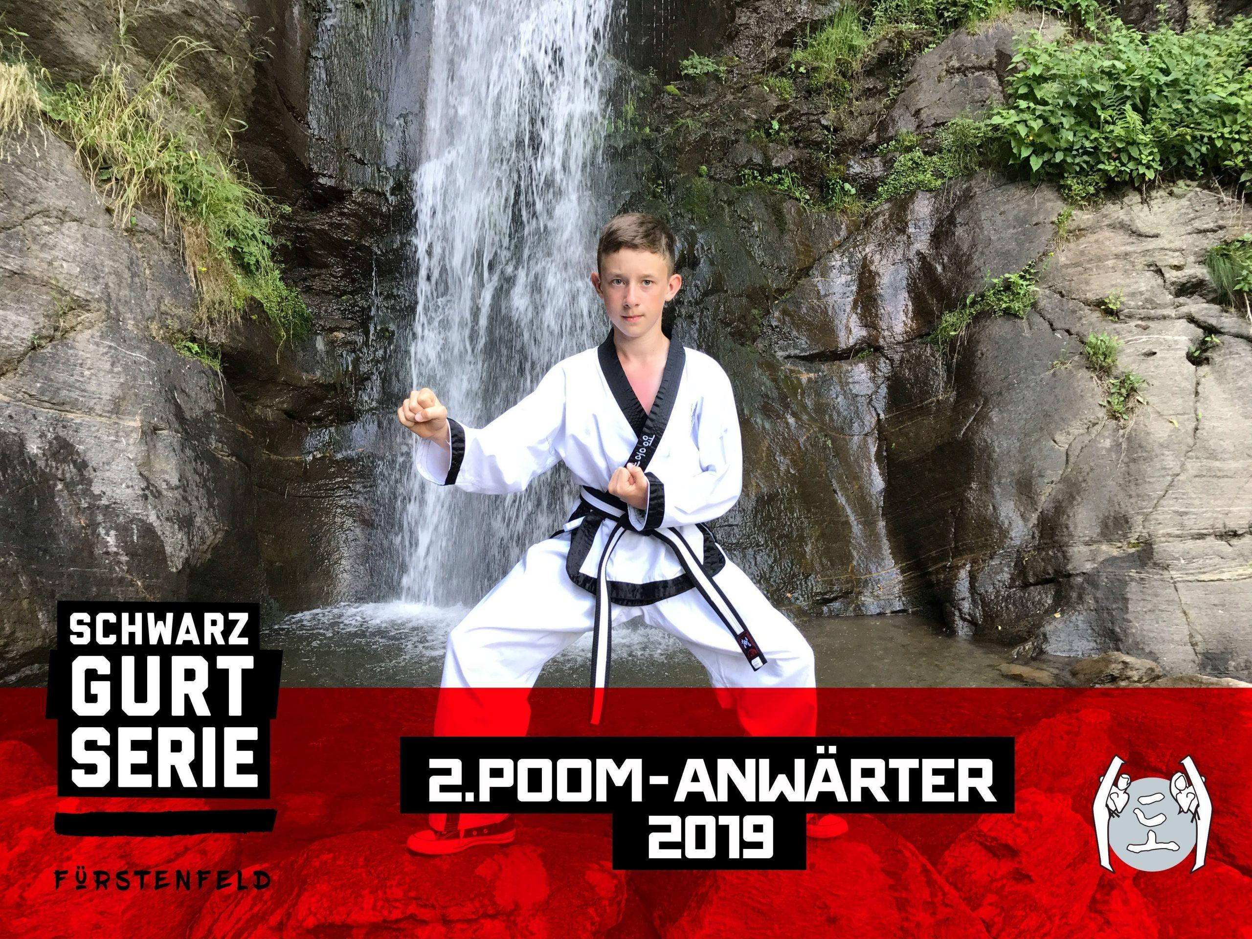 YOUNG-UNG Taekwondo Kampfsport Training Camp Fürstenfeld Julian Sindric