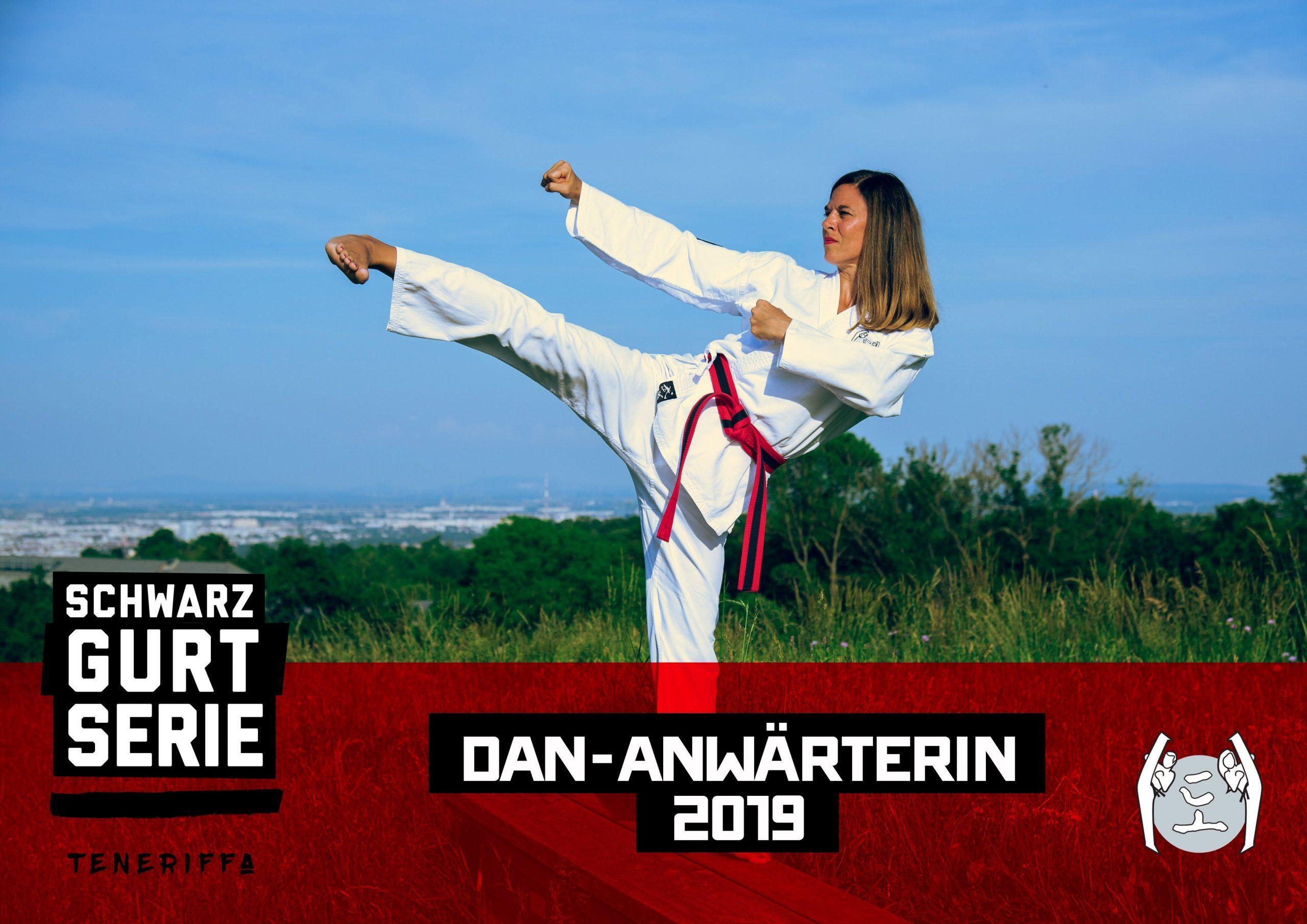 YOUNG-UNG Taekwondo Schwarzgurt Prüfung Astrid Rauch Teneriffa