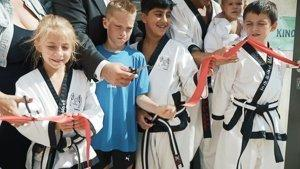 YOUNG-UNG Taekwondo BIG YU Kampfsport Eröffnung Wagramer Strasse Kinderfitness