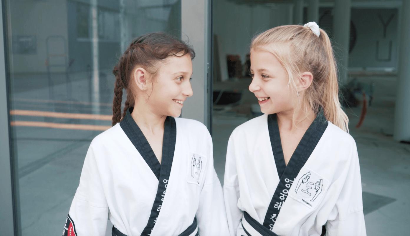 YOUNG-UNG Taekwondo BIG YU Wagramerstrasse Kinderfitness
