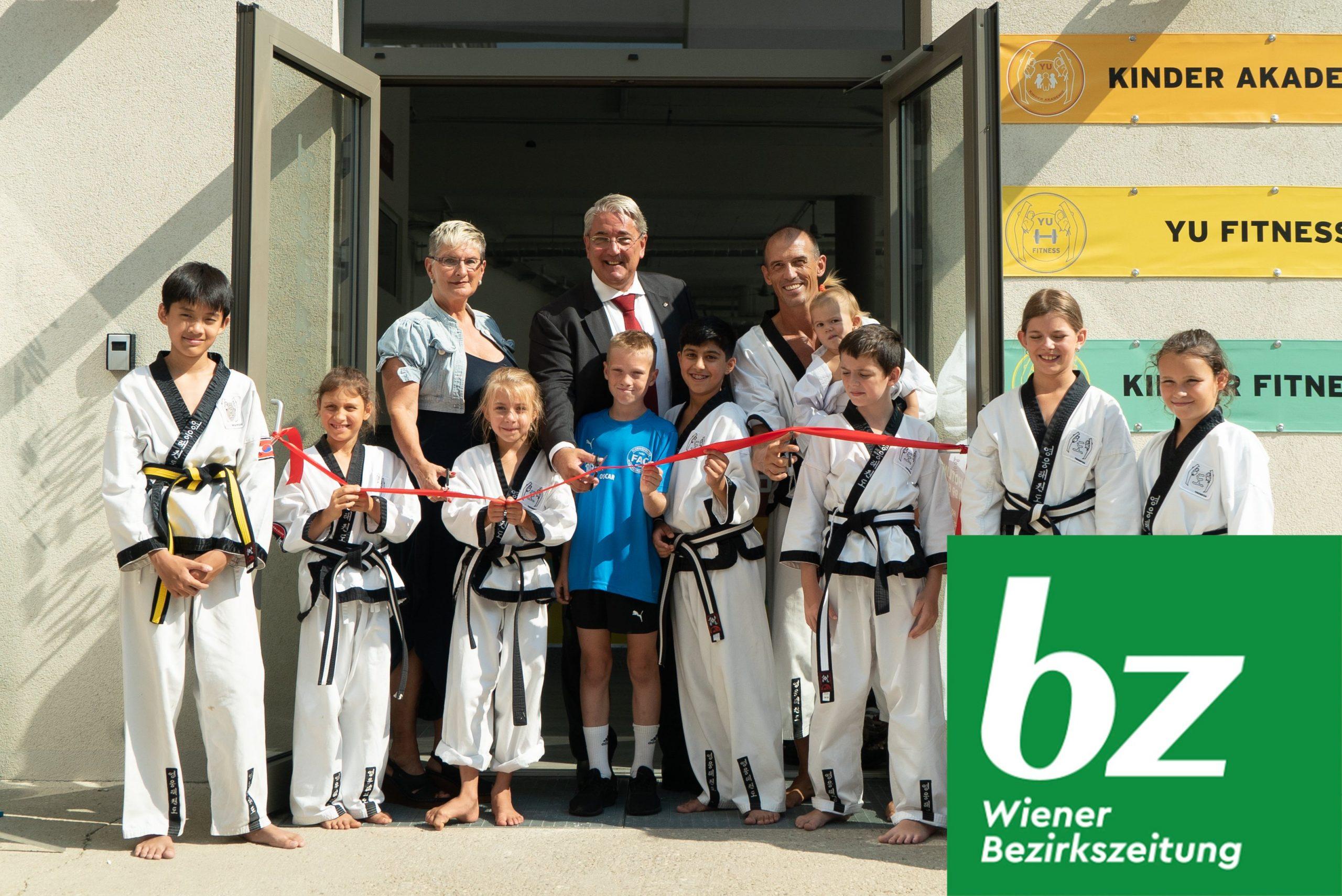 YOUNG-UNG Taekwondo BIG YU Wiener Bezirkszeitung