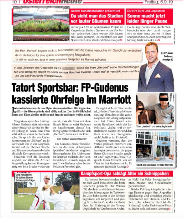 YOUNG-UNG Taekwondo Gerd Peka Heute Zeitung