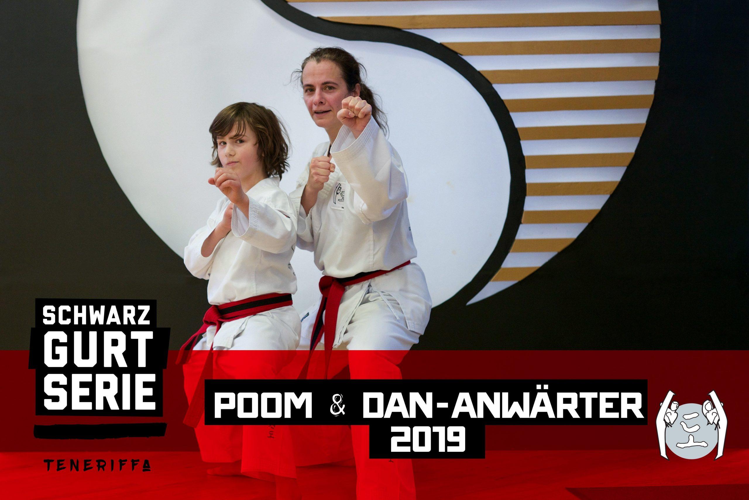 YOUNG-UNG Taekwondo Schwarzgurt-Serie Teneriffa Lara Lammer