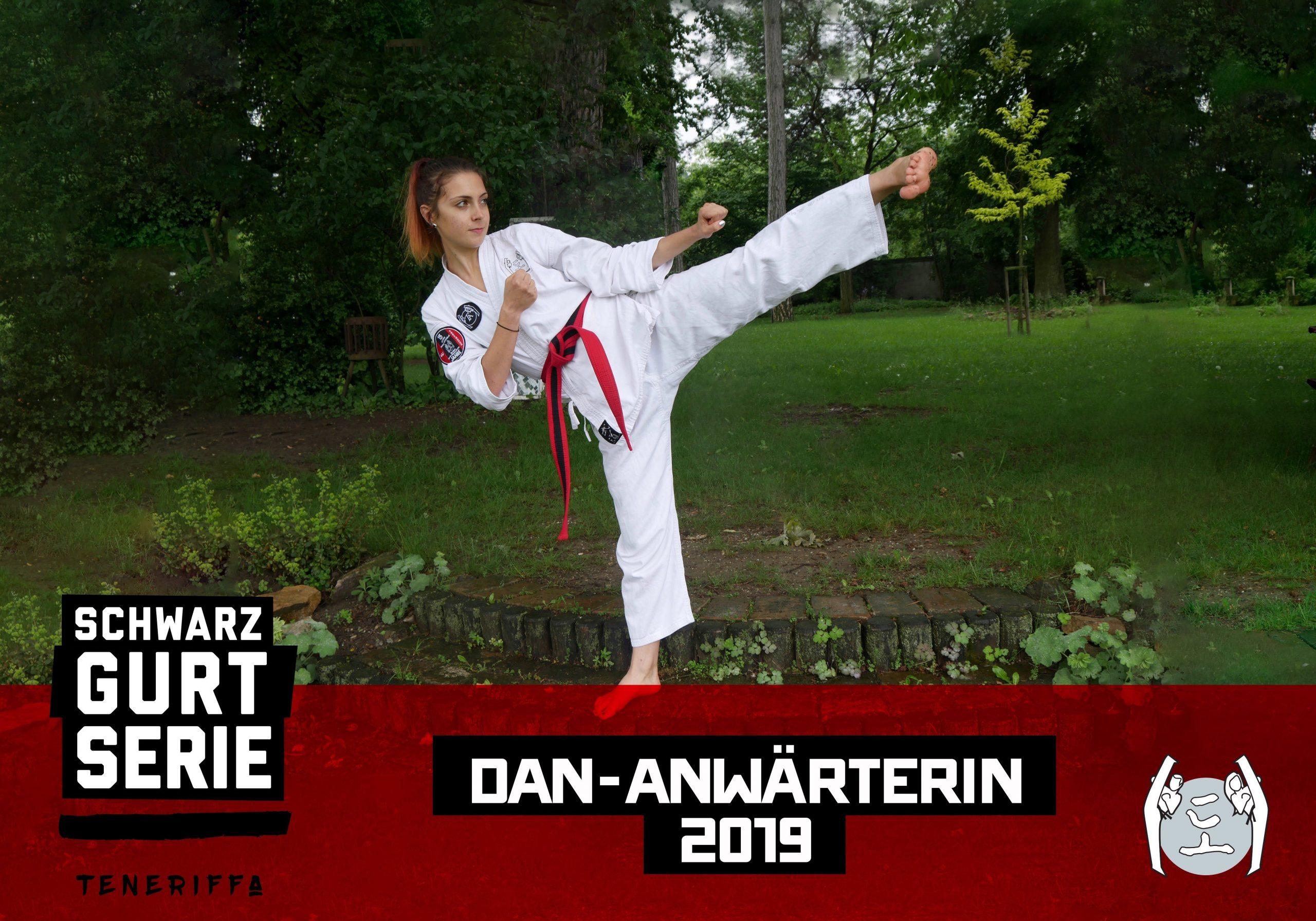 YOUNG-UNG Taekwondo Laura Schrenk Schwarzgurt-Serie Teneriffa Camp