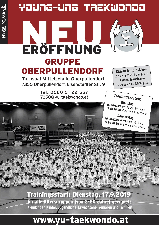 YOUNG-UNG Taekwondo Mittelschule Oberpullendorf