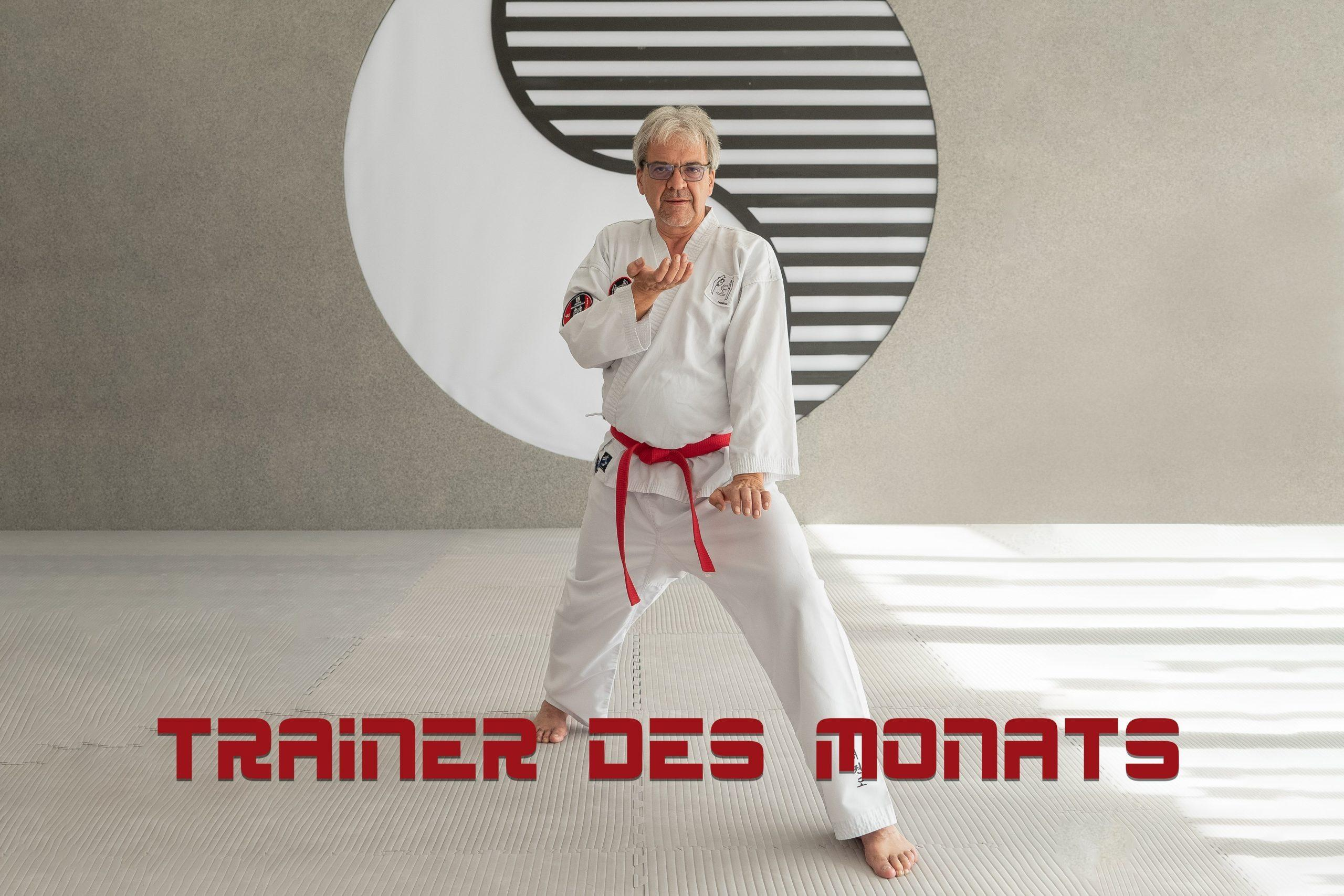YOUNG-UNG Taekwondo Trainer des Monats Wolfgang Schanik-Vysata