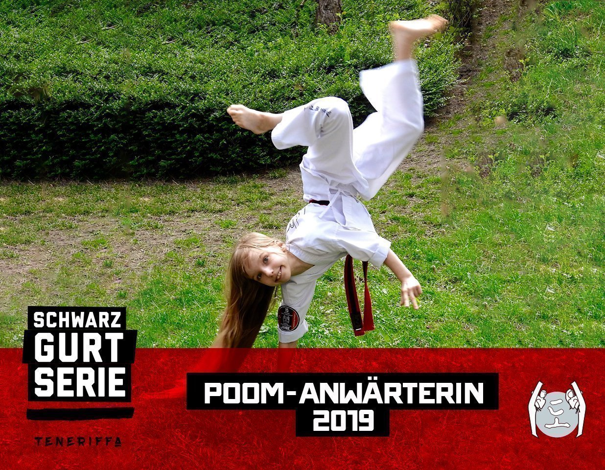 Schwarzgurtserie Vanessa Polaska-Auer YOUNG-UNG Taekwondo Teneriffa Training Camp