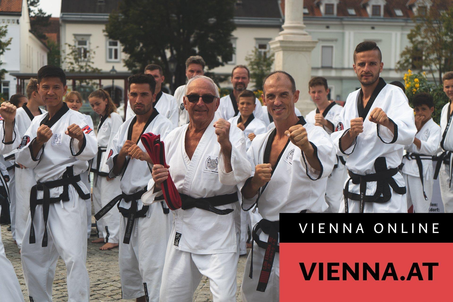 YOUNG-UNG Taekwondo Gerd Peka Taekwondo Opa Heute Zeitung