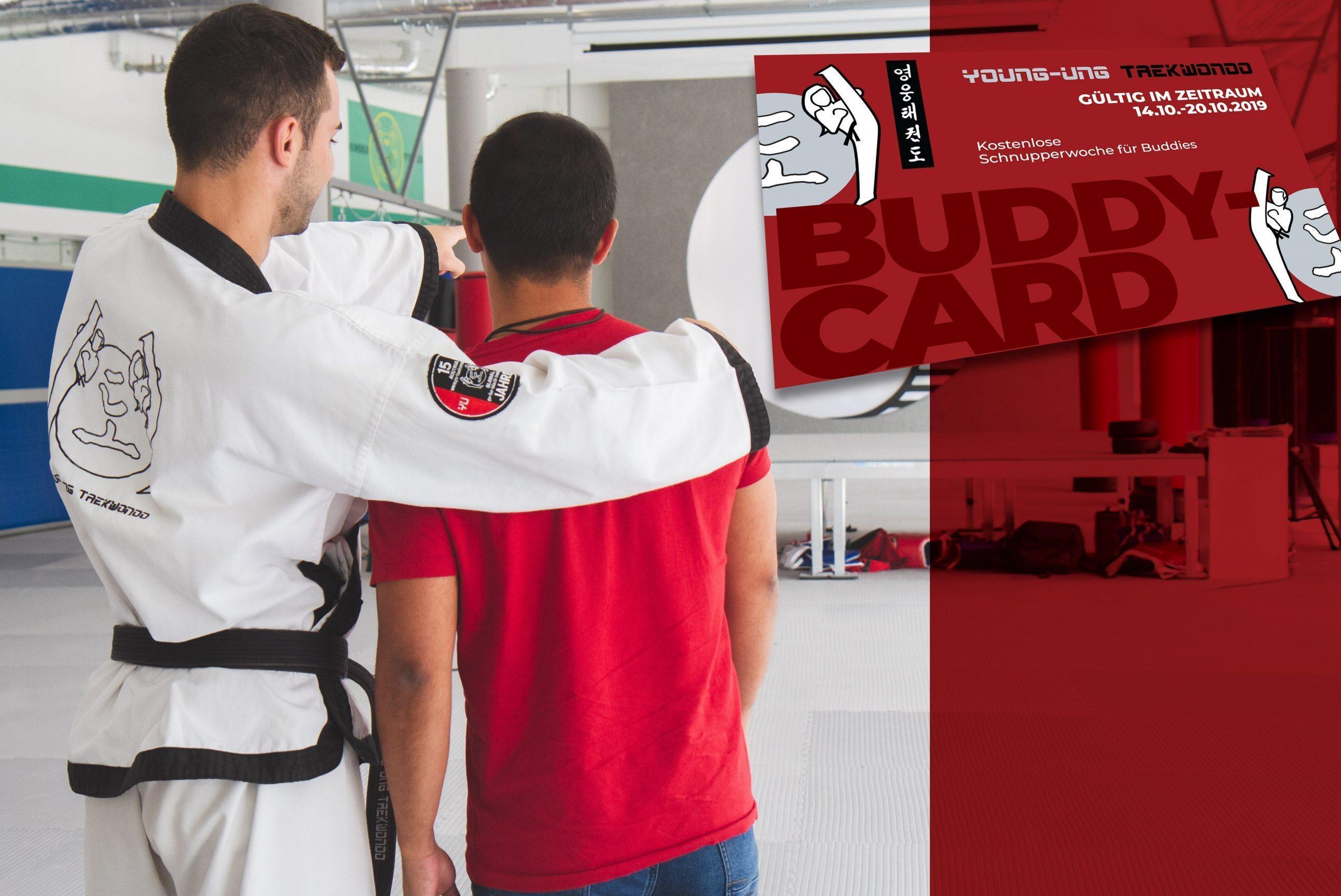 YOUNG-UNG Taekwondo Buddy Week