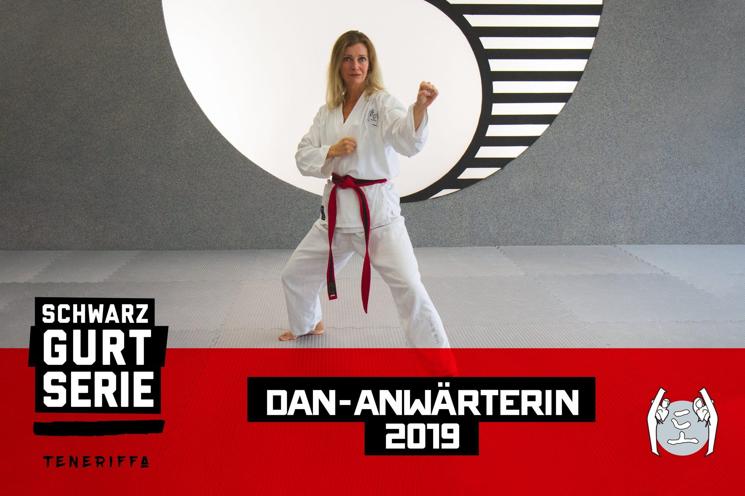 YOUNG-UNG Taekwondo Dagmar Hengl Schwarzgurtserie Teneriffa Camp