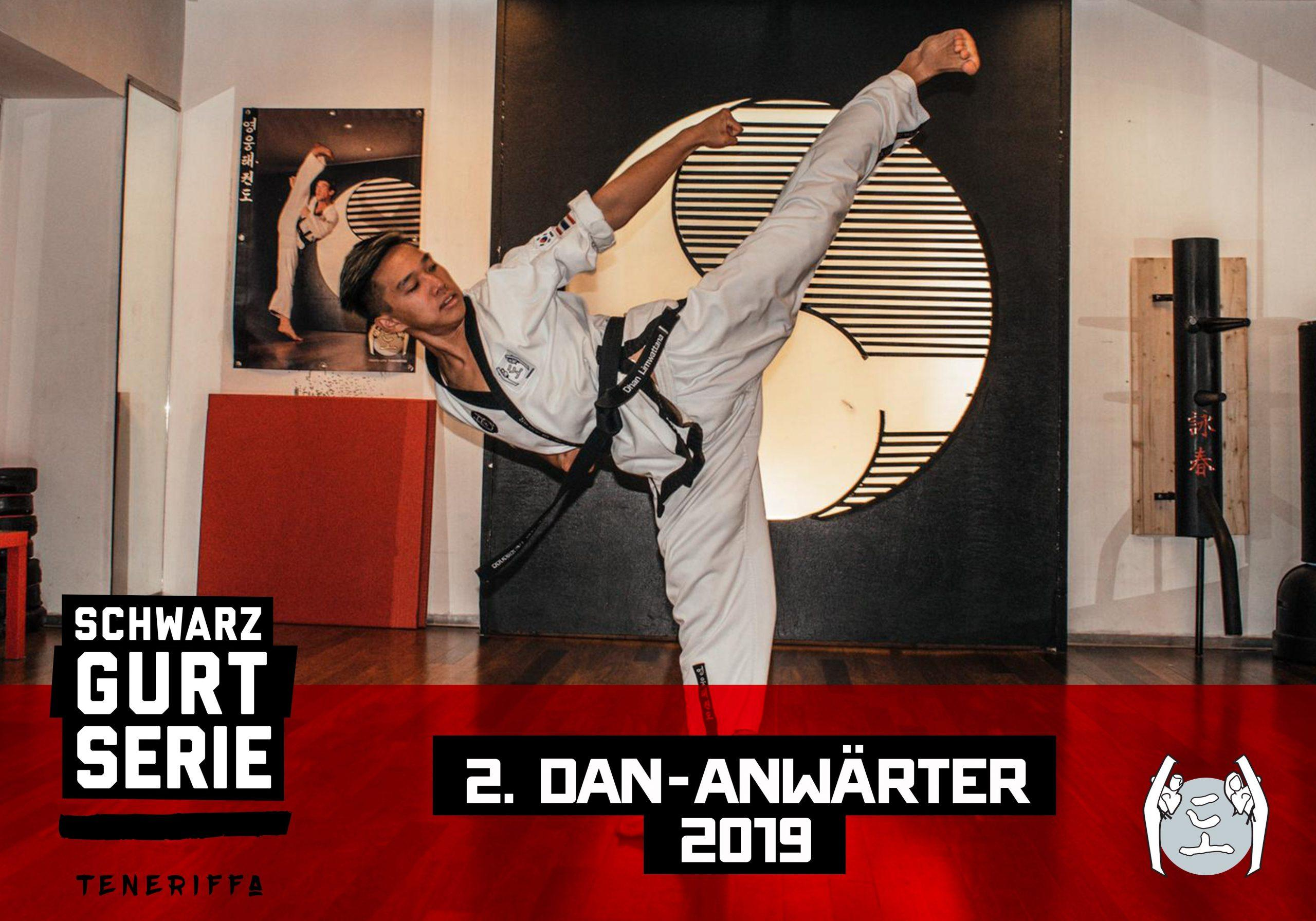 YOUNG-UNG Taekwondo Schwarzgurt-Serie Dhan Limwattana Training Teneriffa Kampfsport