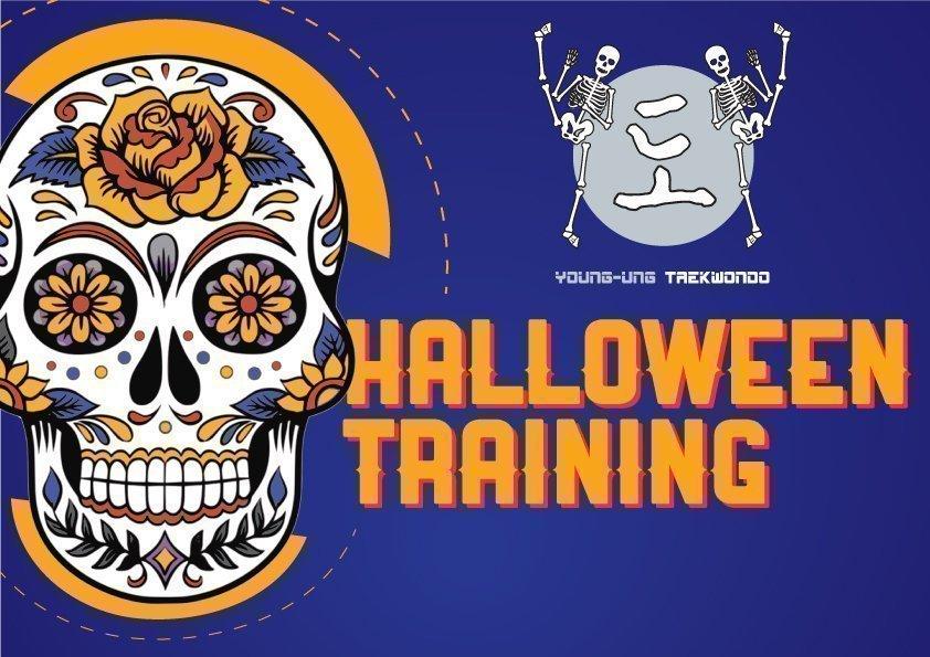 YOUNG-UNG Taekwondo Happy Halloween Training