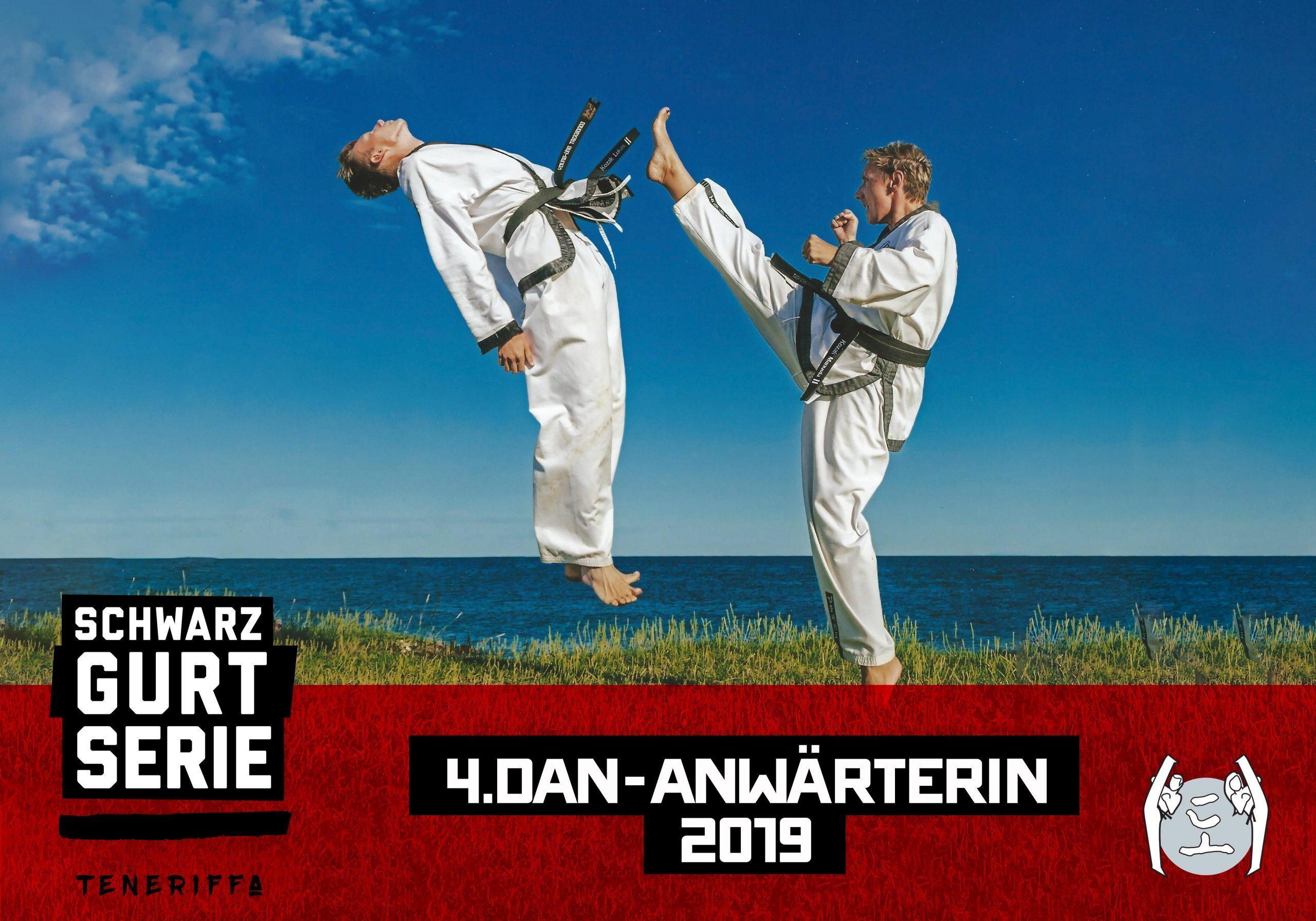 YOUNG-UNG Taekwondo Schwarzgurt-Serie Teneriffa Training Camp Manuela Kozak 4. DAN Anwärterin