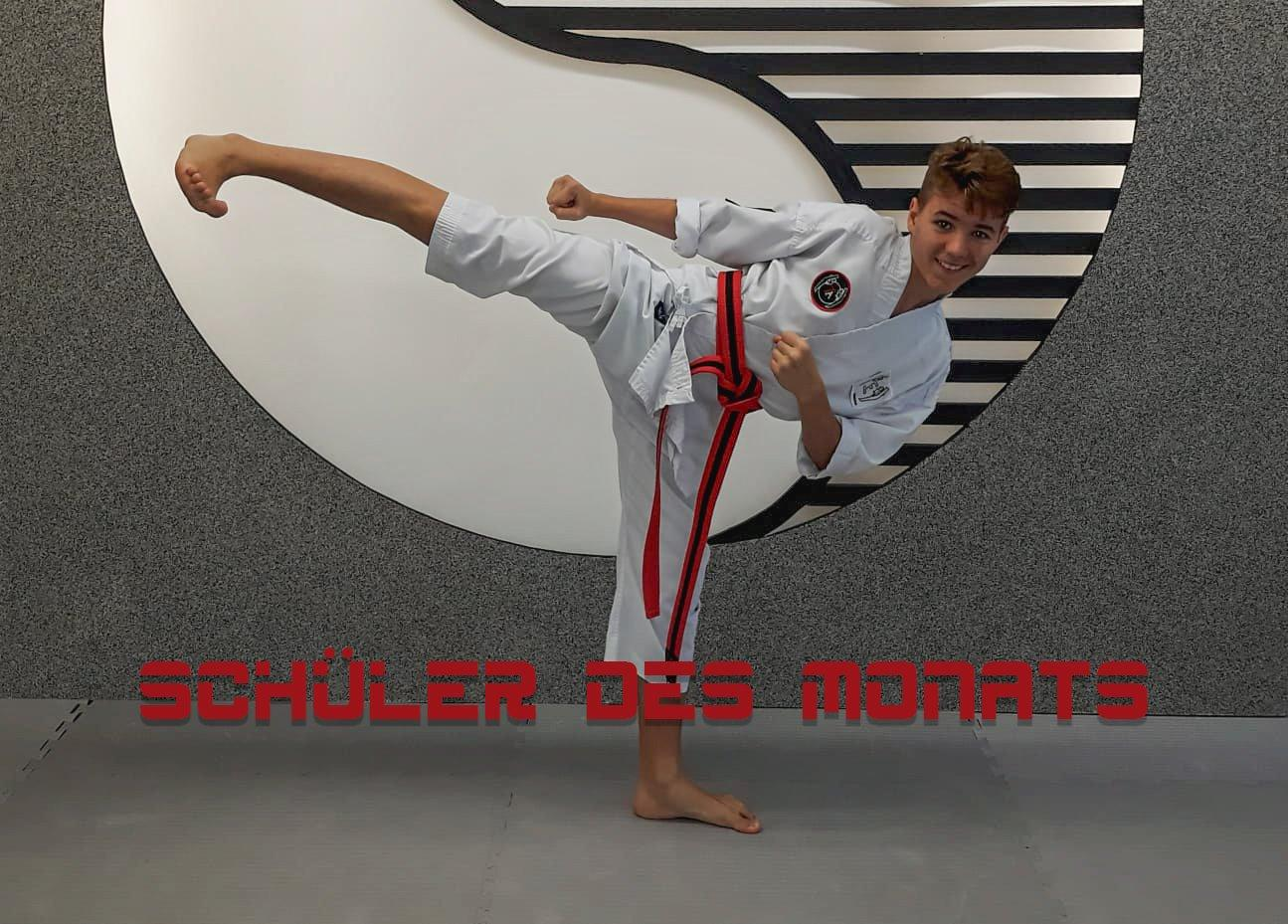 YOUNG-UNG Taekwondo Schüler des Monats
