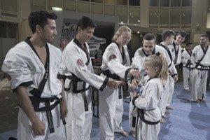 YOUNG-UNG Taekwondo Winter-Turnier 2019 Gasometer