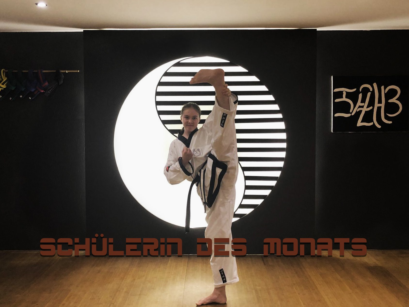 YOUNG-UNG Taekwondo Schülerin des Monats Andjela Andric