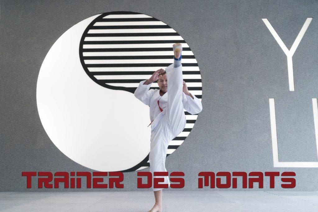 YOUNG-UNG Taekwondo Trainer des Monats Gerald Sikuta
