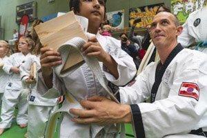 YOUNG-UNG Taekwondo Weihnachtslehrgang Schulschiff