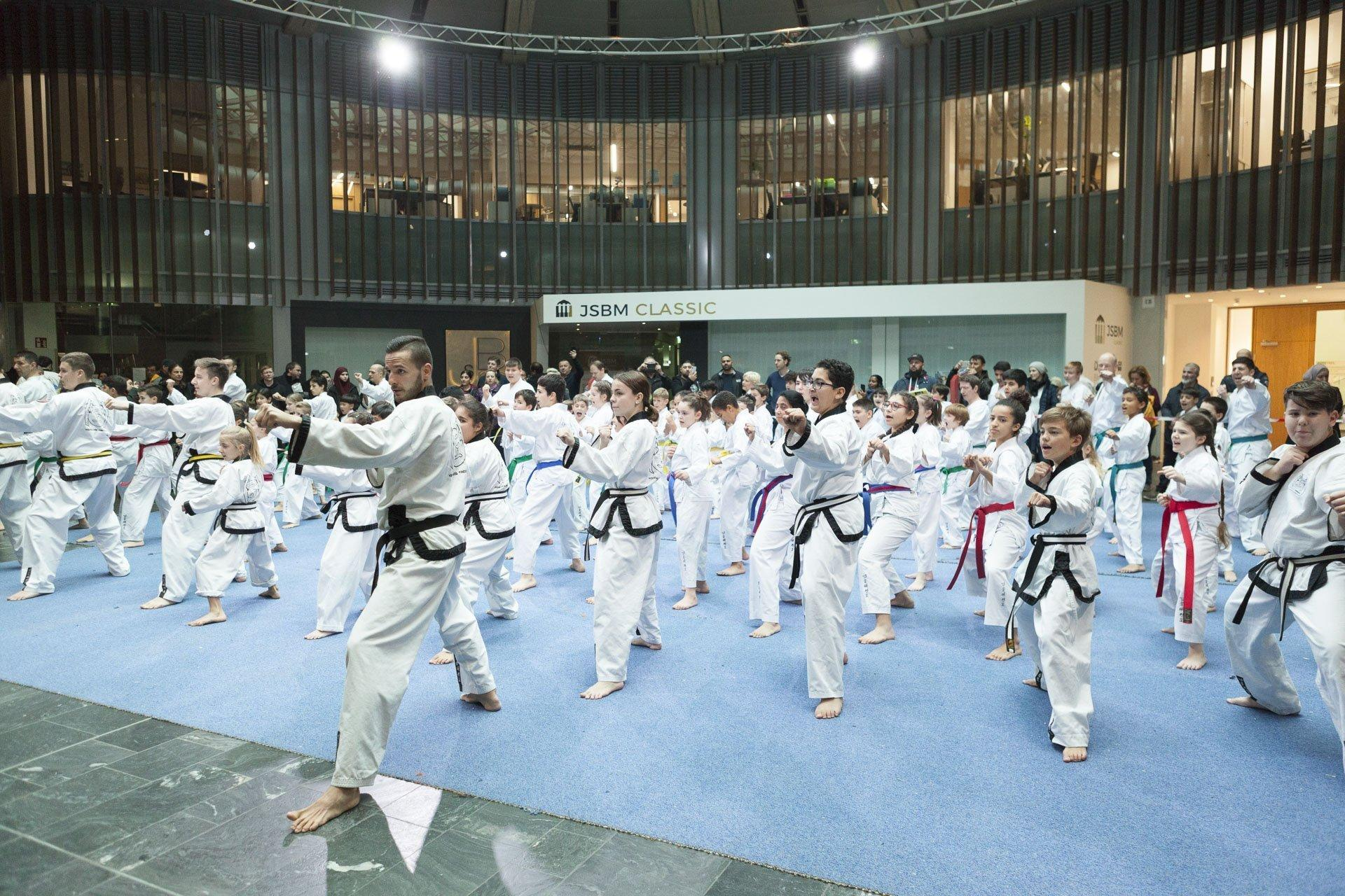 YOUNG-UNG Taekwondo Winter-Turnier Gasometer
