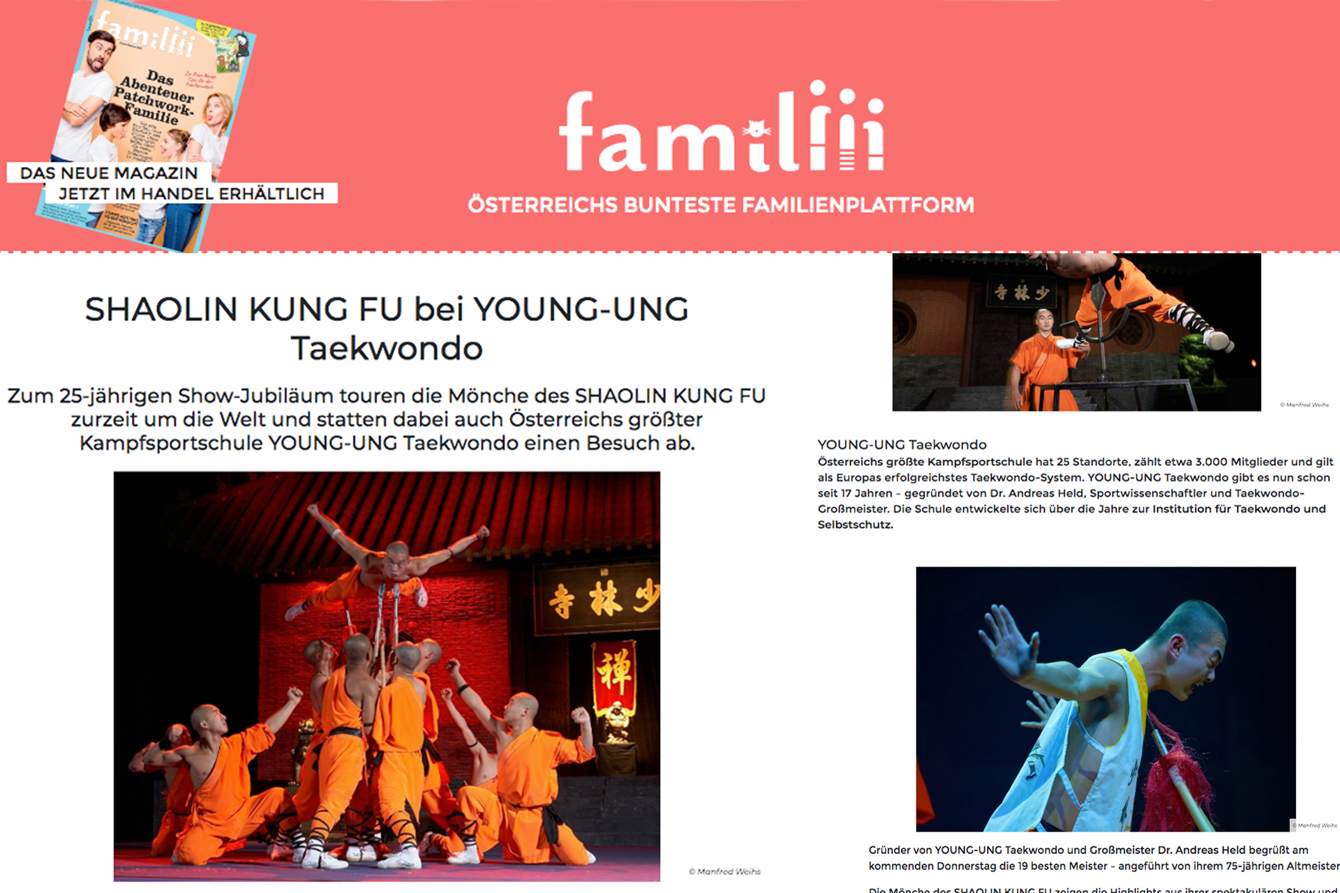 Shaolin Kung-Fu Mönche