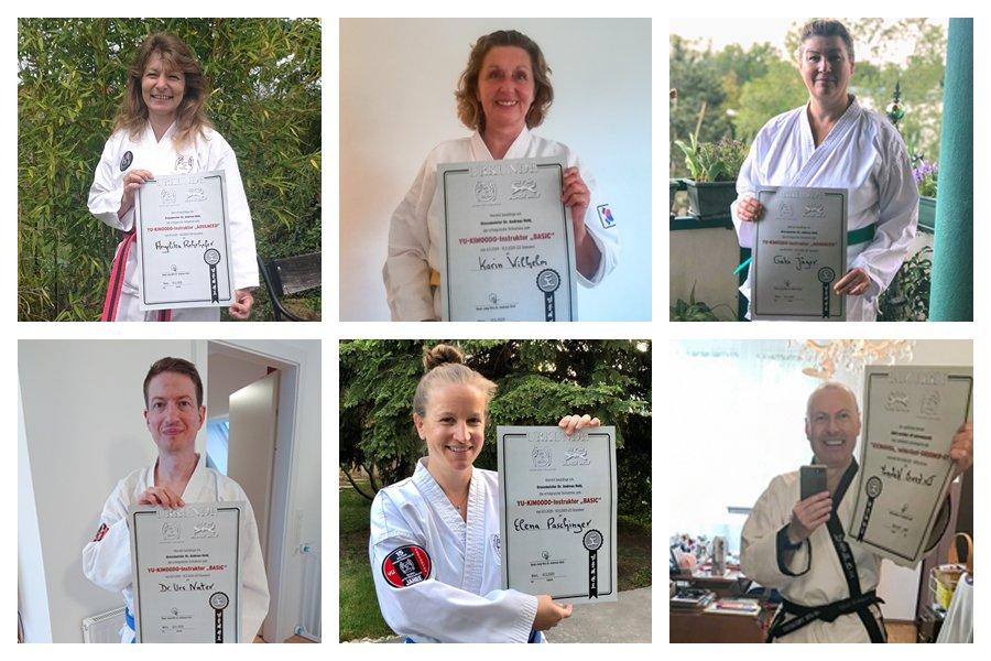 Teilnehmer mit Zertifikat