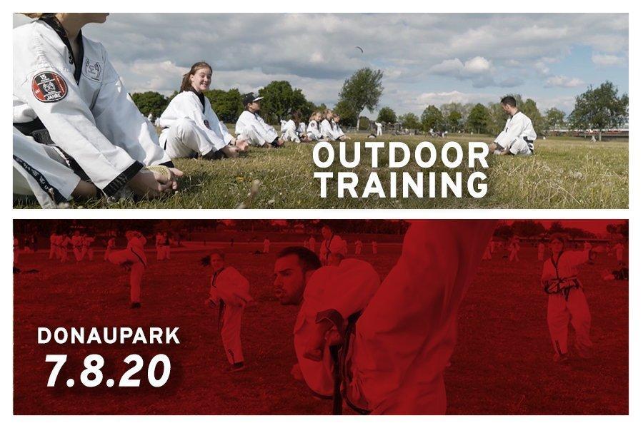 Training mit Meister Milijan im Donaupark