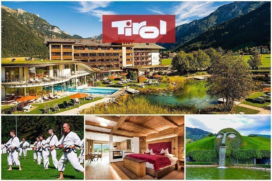 Luxus Hotel in den Tiroler Bergen