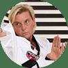 Portrait Foto unserer Taekwondo-Trainerin aus der Zweigstelle 1050 Wien