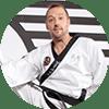Portrait Foto unseres Taekwondo-Trainers aus der Zweigstelle 1100 Wien