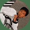 Portrait Foto unseres Taekwondo-Trainers aus der Zweigstelle 1120 Wien