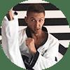 Portrait Foto unseres Taekwondo-Trainers aus der Zweigstelle 1170 Wien