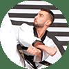 Portrait Foto unseres Taekwondo-Trainers aus der Zweigstelle 1220 Wien