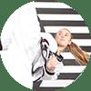 Portrait Foto unserer Taekwondo-Trainerin aus der Zweigstelle 3400 Klosterneuburg