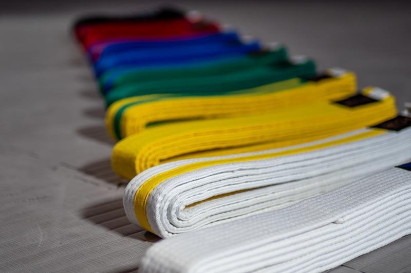 Taekwondo Gurtfarben