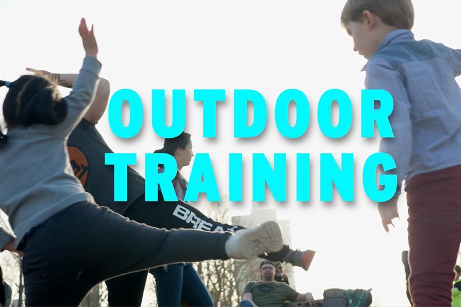 Sujetbild Outdoor-Training