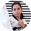 Portrait Foto unserer Taekwondo-Trainerin aus der Zweigstelle 8010 Graz