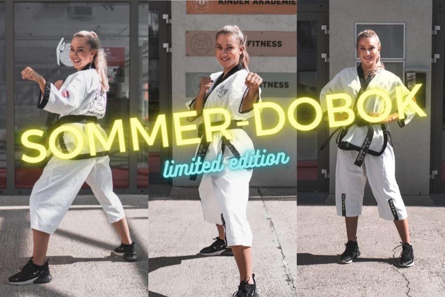 Mädchen im Sommer-Kampfanzug