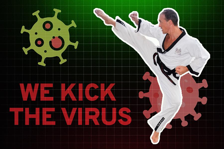We kick the Virus